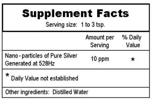 supplement facts color